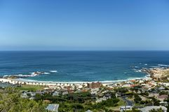 Camps bay, Atlantic ocean, Cape town Stock Images