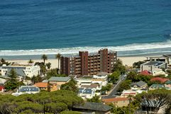 Camps bay, Atlantic ocean, Cape town Royalty Free Stock Photo