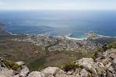 Camps Bay Beach Cape Town Royalty Free Stock Photo