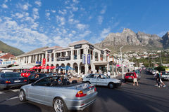 Camps Bay Beach Cape Town Stock Photo