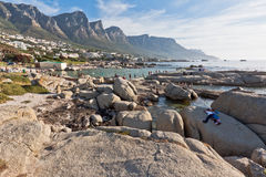 Camps Bay Beach Cape Town Royalty Free Stock Photography