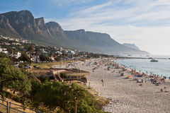 Camps Bay Beach Cape Town Royalty Free Stock Image