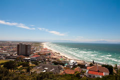 Camps Bay beach in Cape Town Stock Image