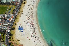 Camps Bay Beach - Cape Town Stock Photo