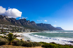 Camps Bay Beach, Cape Town Stock Photography