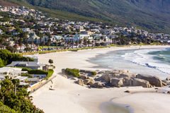 Camps Bay Beach, Cape Town Royalty Free Stock Photos
