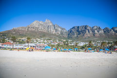 Camps Bay Beach Royalty Free Stock Images