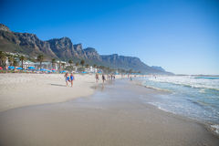 Camps Bay Beach Royalty Free Stock Image