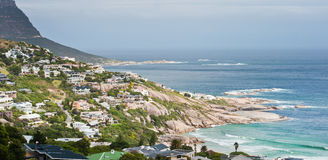 Camps Bay beach South Africa Stock Images