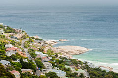 Camps Bay beach South Africa Royalty Free Stock Photos