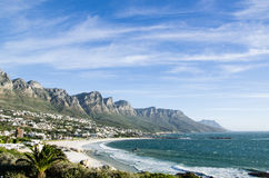 Camps Bay, Cape Peninsula, South Africa Stock Image