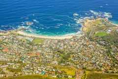 Camps Bay Cape Town royalty free stock photos