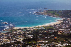 Camps Bay Cape Town Royalty Free Stock Images