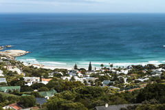 Camps Bay (Cape Town, South Africa) Royalty Free Stock Images