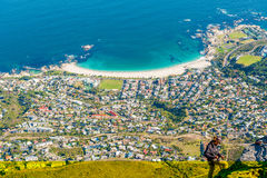 Camps Bay, Cape Town, South Africa Royalty Free Stock Images