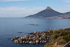 Camps Bay and Lions Head Cape Town South Africa Royalty Free Stock Images