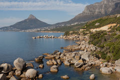 Camps Bay and Lions Head Cape Town South Africa Royalty Free Stock Photo