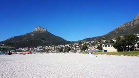 Camps Bay near Cape Town, in the Western Province of South Afric Stock Image