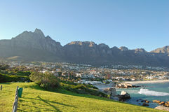 Camps bay suburb Royalty Free Stock Image