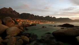 Camps  Bay sunset Royalty Free Stock Photo
