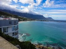 Camps Bay and Twelve Apostles, South Africa stock photography