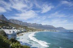 Campsbay Capetown Afrique du Sud Images stock
