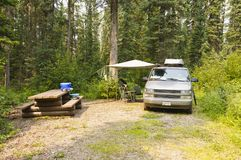 campsite Image stock