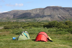 Campsite Royalty Free Stock Photography
