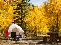campsite photo stock
