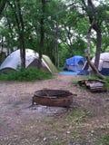 campsite Stock Afbeeldingen