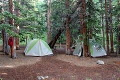 campsite Стоковые Изображения RF