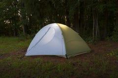 campsite imagen de archivo