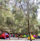 campsite immagine stock