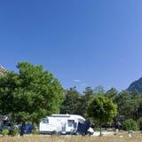 Campsite, campground Stock Photos