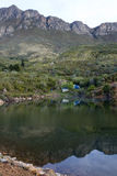 Campsite in the Cederberg Mountains. In South Africa stock photos