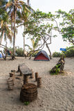 Campsite in Colombia Stock Image