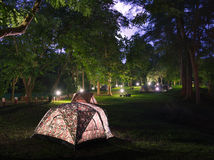 Campsite. Royalty Free Stock Photos