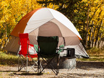Campsite Royalty Free Stock Images