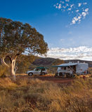 Campsite in the Outback Stock Images