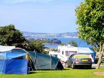 Campsite, Paignton, Devon. Royalty Free Stock Photo