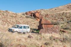 Campsite on the rim of the extinct Brukkaros volcano Stock Photography