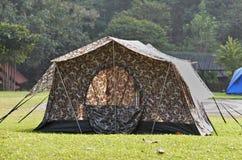 Campsite tent Royalty Free Stock Photos