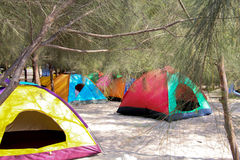 Campsite Stock Photo