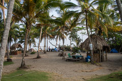 Campsite w Kolumbia Fotografia Royalty Free