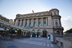 Bucharest view - National Army Palace Royalty Free Stock Images