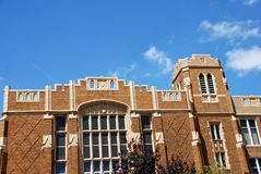Campus Stockfoto