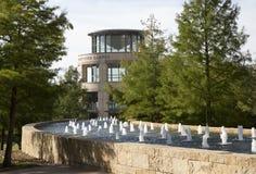 Campus agradable de la universidad del condado de Tarrant fotografía de archivo