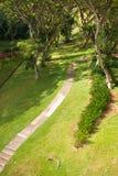 Campus-Ansicht stockfoto