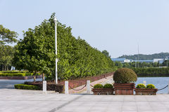The campus beautiful scenery royalty free stock images