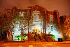 Florida State University. Campus building at Florida State University in the evening Stock Photos
